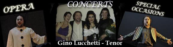 Gino Lucchetti – Tenor
